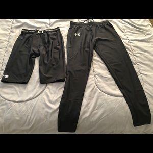 Men's Under Armour Compression Shorts & Leggings